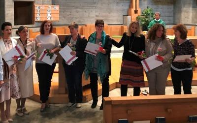 Abschlussfeier Bildungsgang Katechese Graubünden